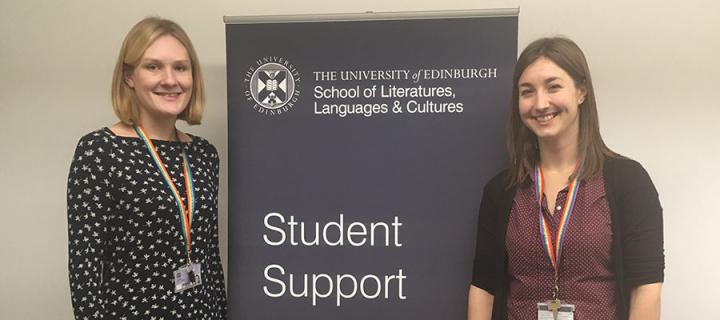 Photo of new Student Support Officers