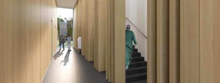 New Equine Hospital - Artists Impression - Interior
