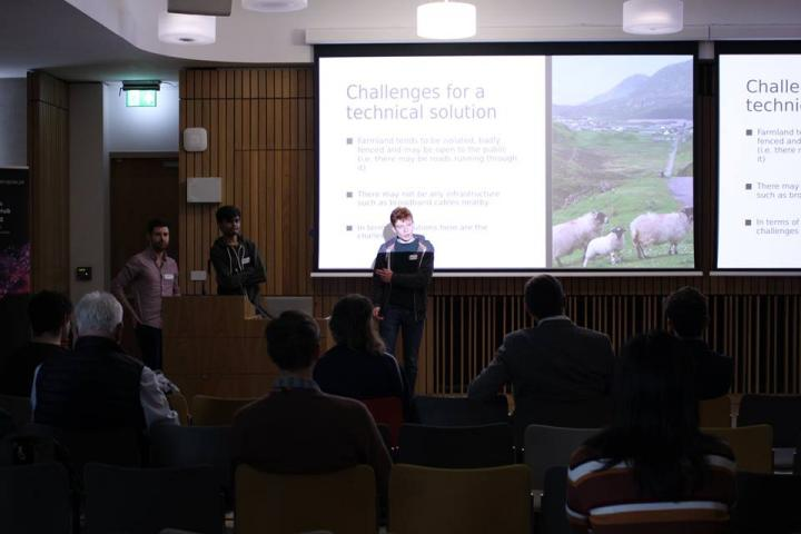 Students at the IoT Hackathon. Photo credit: University of Edinburgh Embedded and Robotics Society