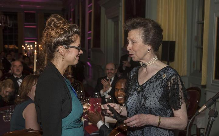 Dr Jennifer Culbertson with The Chancellor, HRH The Princess Royal