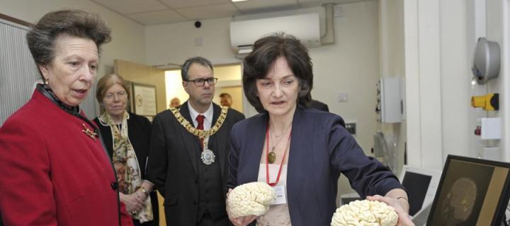 HRH the Chancellor & Prof Wardlaw