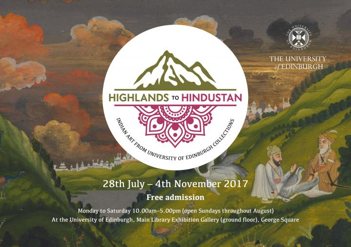 Highlands to Hindustan Exhibition Information