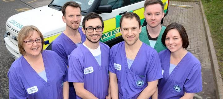 The Year 5 Emergency Medicine team