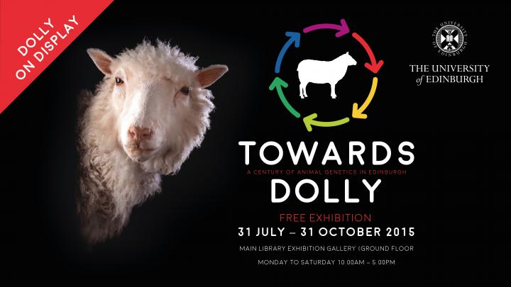 Advert for Towards Dolly exhibition