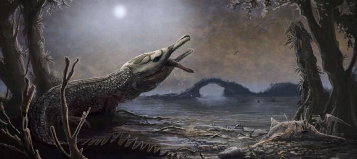 Artist's impression of Lemmysuchus.