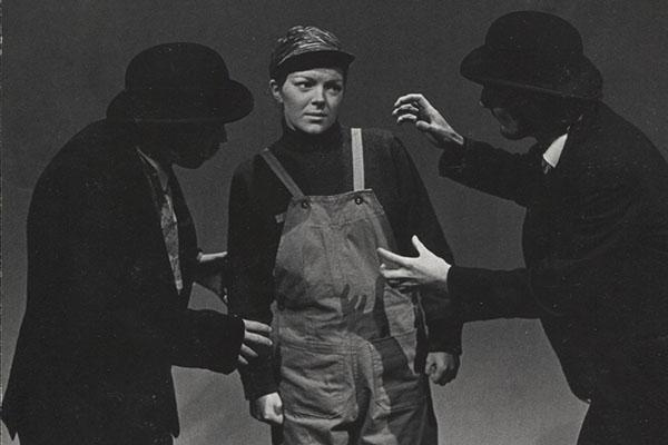Marka as Boy in a production of Godot