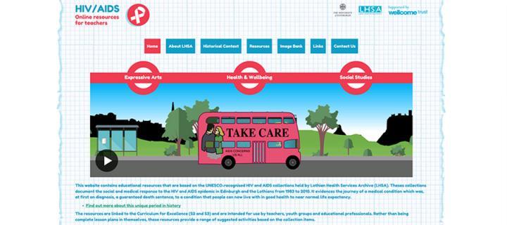 HIV/AIDS Homepage