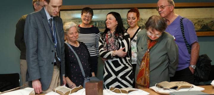 Library treasures at Alumni Weekend