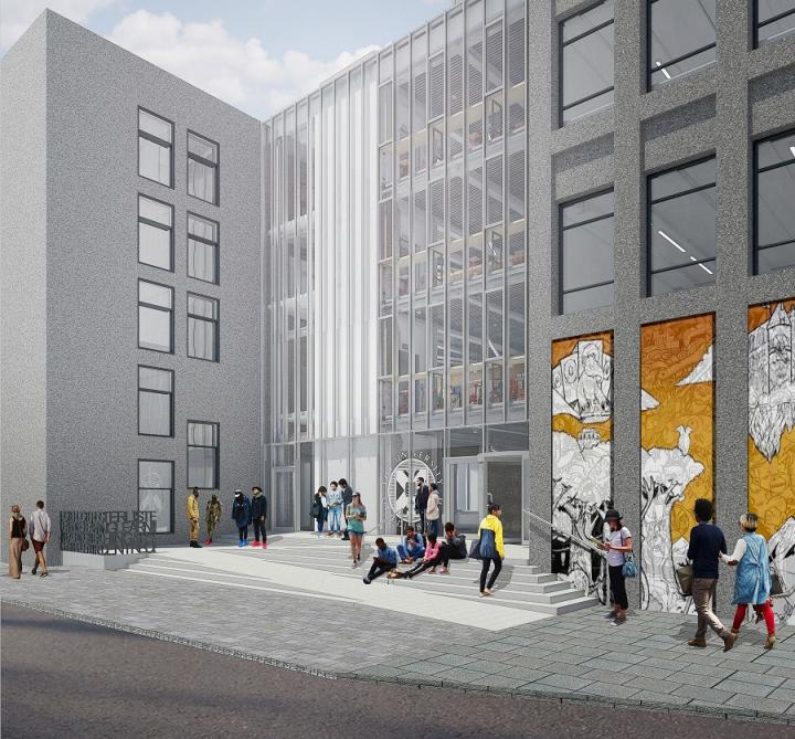 Image of Lister Learning and Teaching Centre entrance