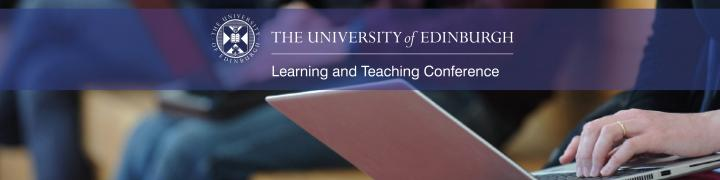 Banner image with learning and teaching conference logo