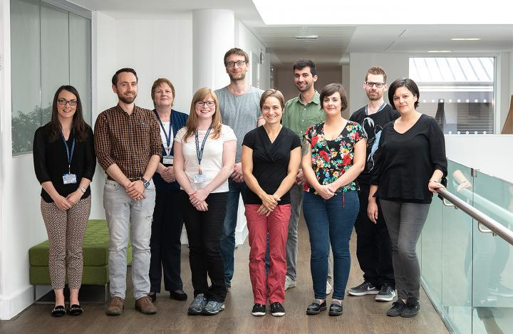 Margaret Frame research group 2018