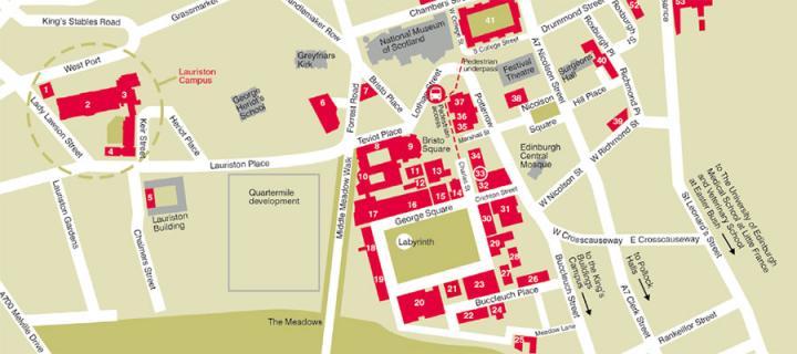 Screen shot of printed map