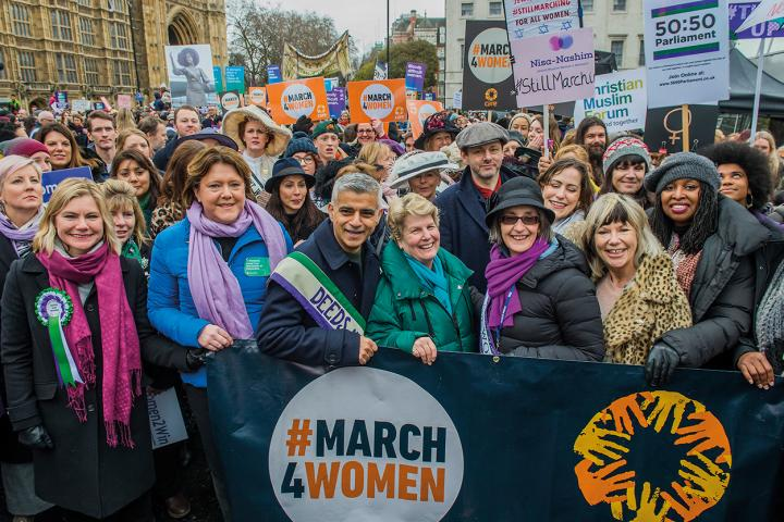 March for Women 2018 in London