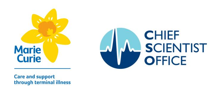 ​Marie Curie partnership with Chief Scientist Office funds vital research into care for terminally ill patients in Scotland