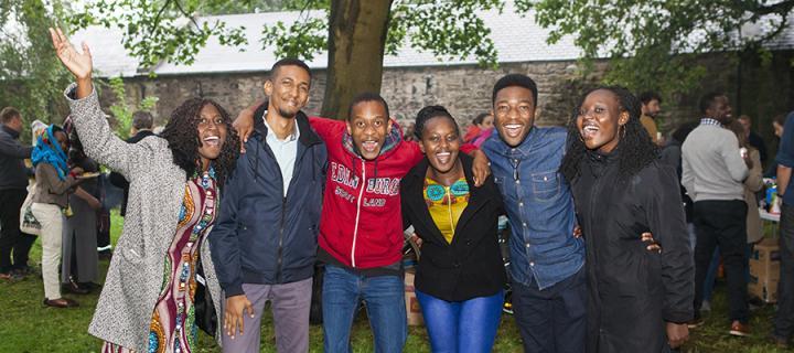 The University of Edinburgh's Mastercard Foundation Scholars Program students
