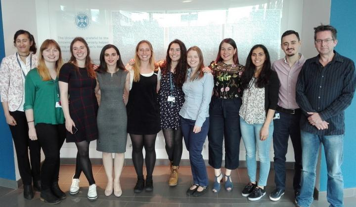 MSc by Research in Reproductive Sciences cohort 2017-2018