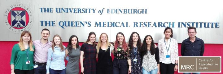 MSc Reproductive Sciences cohort 2018-2019