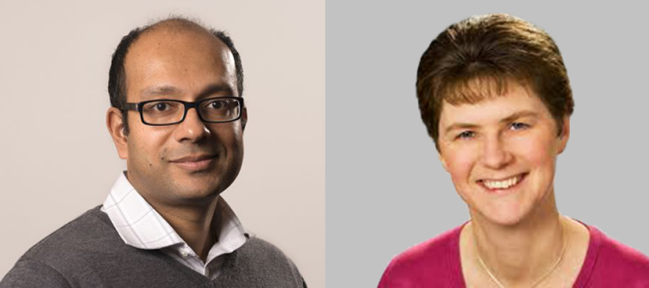 Professors Jackie Price and Harish Nair