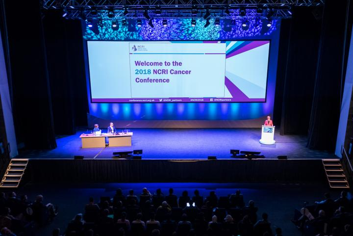 NCRI Conference Stage