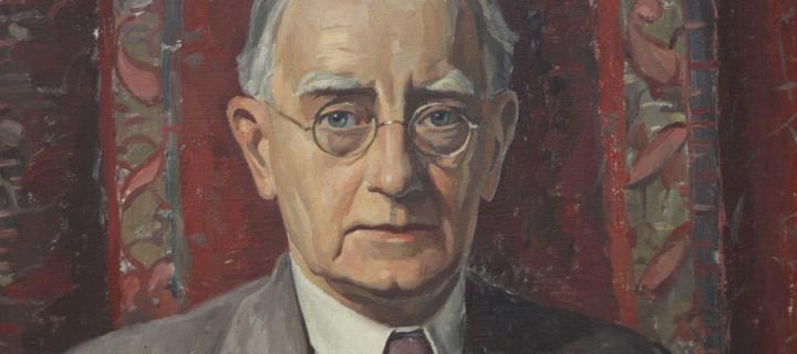 Portrait of Norman Kemp Smith by A. Bruce Thompson