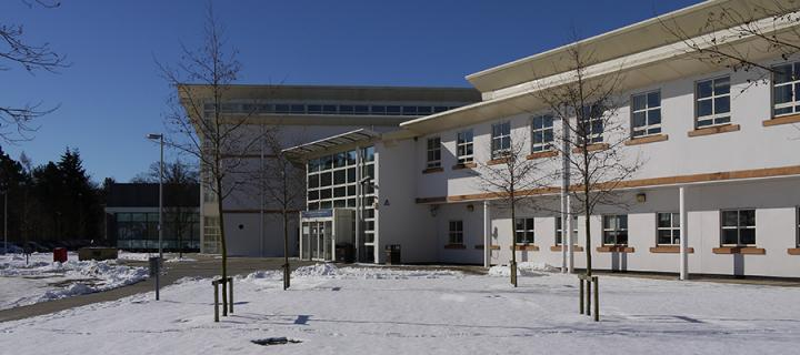Snow at Easter Bush Campus