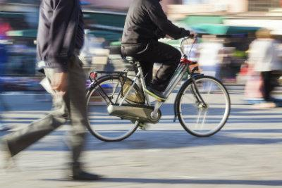 Cyclists (stock image)