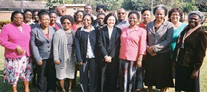 Kamuzu College of Nursing, Malawi Faculty with Pam Smith, June 2015