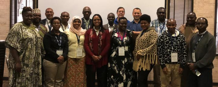 Partnership for Enhanced and Blended Learning group photo Kenya