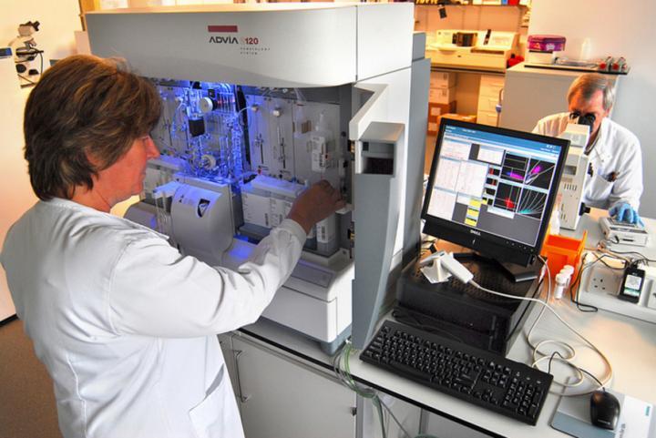 Pathology - hematology machine
