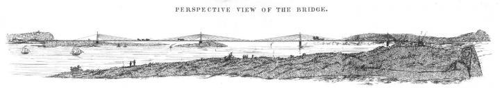 Forth Bridge Drawing