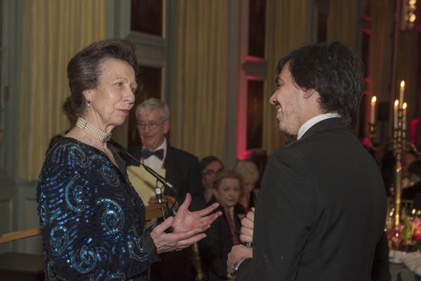 Dr Canevaro meets Princess Anne