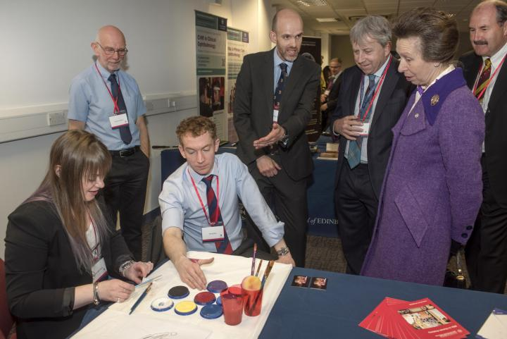 Anatomy@Edinburgh meet HRH The Princess Royal