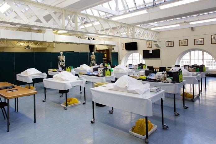 Embalming Room Design Part - 50: Anatomy@Edinburgh Delivers First UK Post-mortem Reconstruction Course