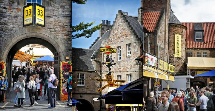 Pleasance during the Fringe festival August 2017 montage
