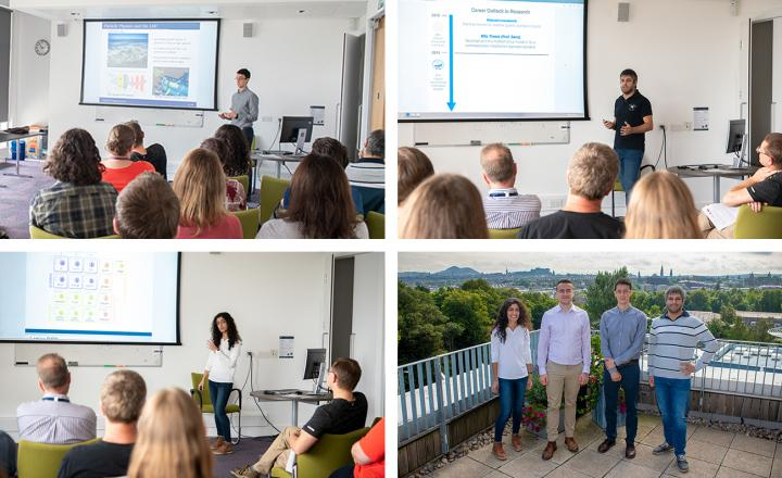 "A few ""snap-shots"" of scientific activities from the XDF Programme Induction Week."