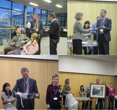 Images from Prof Iredale's leaving reception