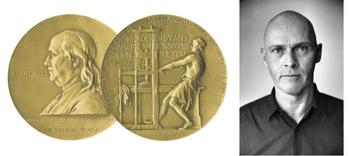 Andrew R.C. Marshall wins Pulitzer Prize