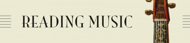 Reading Music Header Banner