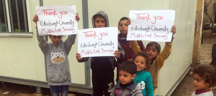 Student society helps to rehouse refugees