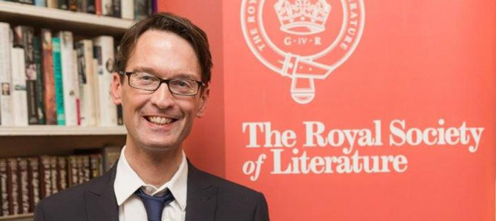David Farrier at the Royal Society of Literature Awards