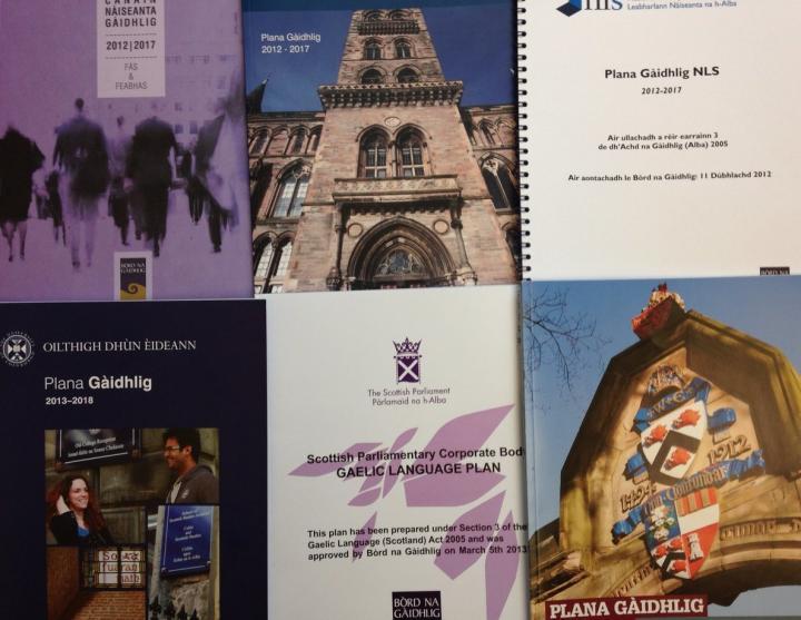 Gaelic Language Plans