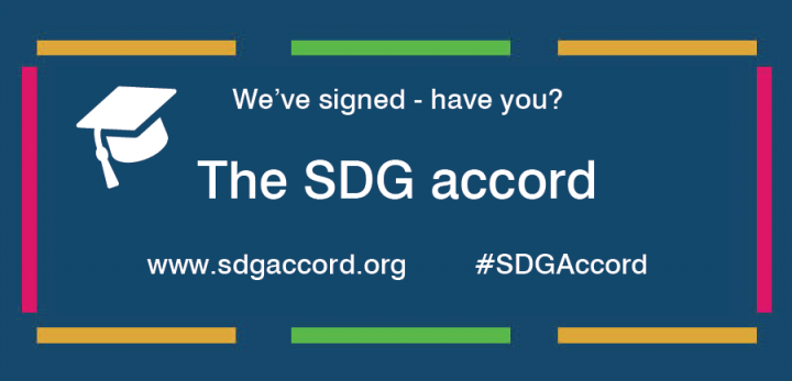 We've signed - have you? The SDG accord, www.sdgaccord.org, #SDGAccord