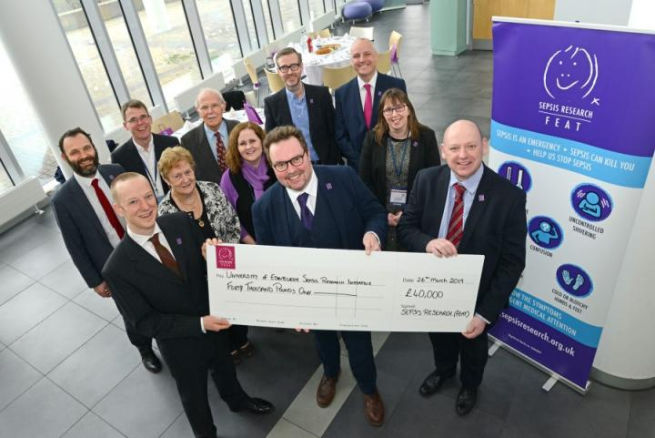 A cheque for sepsis