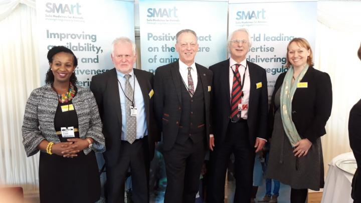 New SMArt board trustees at the launch event in London, 11 March 2020. Photo credit: SEBI