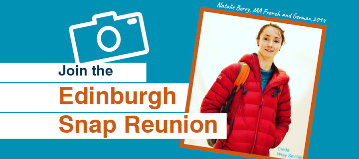 Join the Edinburgh Snap Reunion - Photo of Natalie Berry, 2014 French and German alumna.