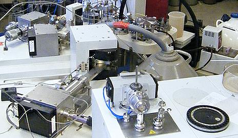 Spectrometer close up
