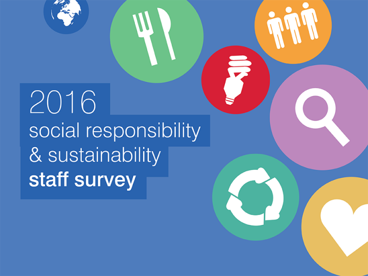 2016 social responsibility and sustainability staff survey