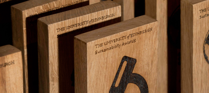 Sustainability Awards Past Winners Section Image - trophies