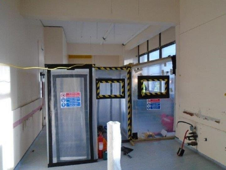 Asbestos Removal In The Darwin Tower The University Of