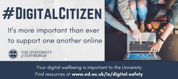 "#DigitalCitizen campaign image - ""It's more important than ever to support one another online"""